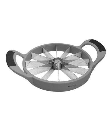 CHRselect Trancheuse de Fruits et Légumes Plastique | 12 Couteaux INOX | Ø 200mm