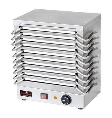CaterChef Plaque Chauffante Plats - 10 Plats - 1200W - 370x245x(H)440mm