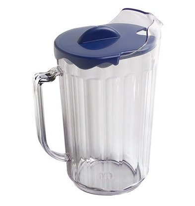 CHRselect Broc Transparent avec Couvercle | 1,8 Litre | (H)230mm