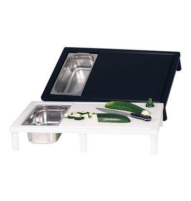 Emga Table à Découper - 650x400x(h)110mm - Blanc