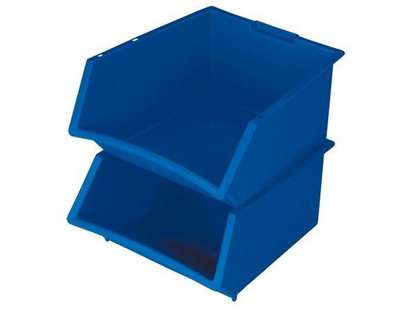 CHRselect Bac à bec Empilable Plastique  | 360x390x(H)200mm | 25 Litres