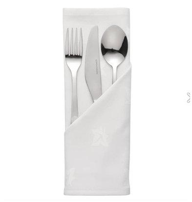 Mitre Luxury Serviettes Blanches | 100% Coton | Lot de 10 pièces | Disponibles en 2 tailles