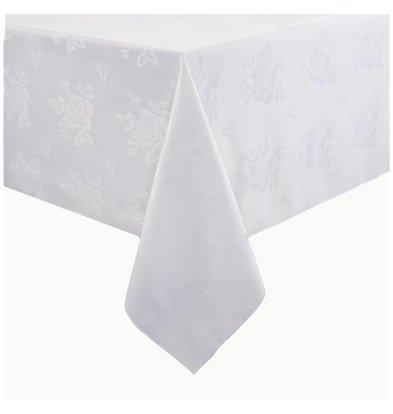 Mitre Luxury Nappe Roslin | Blanc | 100% polyester | Disponibles en 2 tailles