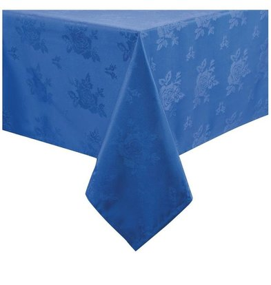 Mitre Luxury Nappe Traditions | Bleu | 100% polyester | Disponibles en 2 tailles
