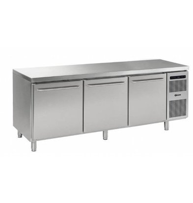 Gram Comptoir Réfrigéré INOX | Gram M 2408 CBG A DLB DLB DRB L2 | 865L | 2340x800x950(h)mm | Pâtisserie