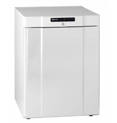 Gram Frigo Dessous Comptoir Blanc/INOX | Gram COMPACT K 210 LG 3W | 125L | 595x640x830(h)mm