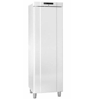 Gram Réfrigérateur Blanc/INOX | Gram COMPACT K 410 LG L1 6W | 346L | +2/+12°C | 595x640x1875(h)mm