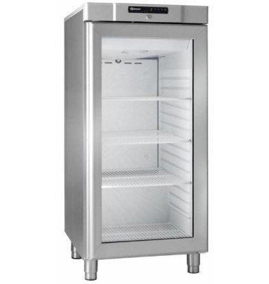 Gram Réfrigérateur INOX | Gram COMPACT KG 310 RG L1 4W | Porte en Verre | 218L | 595x640x1300(h)mm
