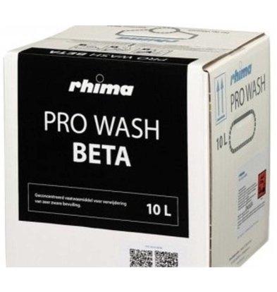 Rhima Détergent à vaisselle  | Pro Wash Beta | Bag in Box |10 litres