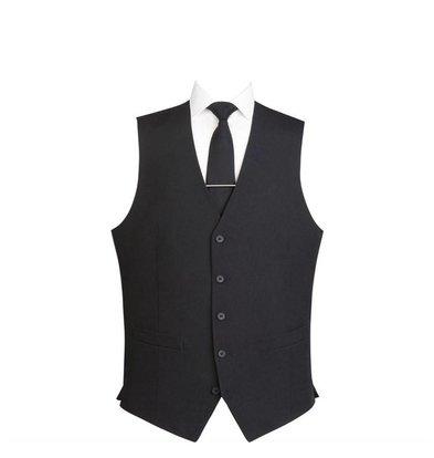 CHRselect Gilet Homme | 5 Boutons | Noir | Disponible en 6 tailles