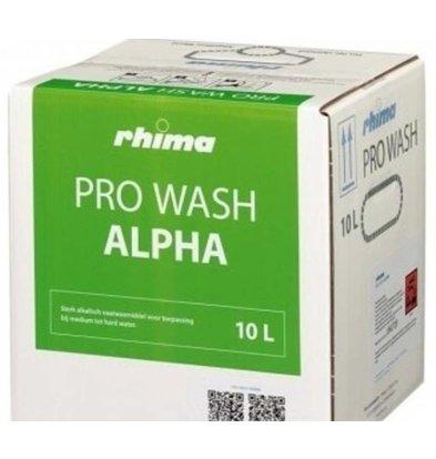 Rhima Détergent à vaisselle |  Pro Wash Alpha | Bag in Box | 10 litres