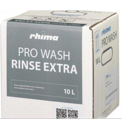 Rhima Produit de rinçage |  Pro Wash Rinse Extra | Bag in Box  | Puissant | 10 litres