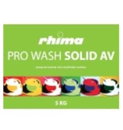 Rhima Détergent à vaisselle  | Pro Wash Solid AV | lot de 2 x 5kg
