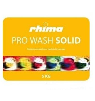 Rhima Détergent à vaisselle |Pro Wash Solid |  lot de  2 x 5 kg