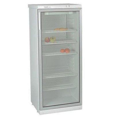 Exquisit Réfrigérateur Porte Vitrée | 270L | 5 Grilles Réglables | 600x600x(h)1450mm