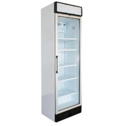 Kleo Réfrigérateur Blanc | Porte Vitrée | 5 Grilles | R600a | 590x610x(H)2010mm