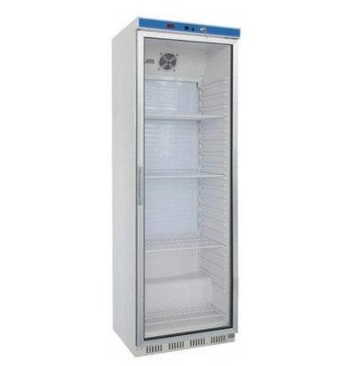 Saro Réfrigérateur Acier Blanc   400 Litres   Ventilée   600x580x1850(h)mm
