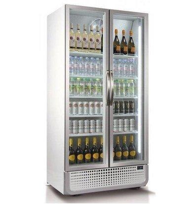 Husky Réfrigérateur Blanc MODERNE | 728L | Eclairage LED | 1000x719x1985(h)mm