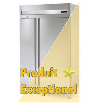 Coreco Réfrigérateur INOX | Coreco AGR-125 | Equipé de 3xGN1/1 et 3xGN2/1 | 1250x675x(H)2075mm