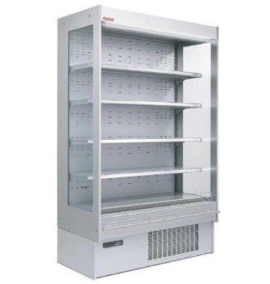 Oscartielle Meuble Réfrigéré 'Libre Service' | -1°/+5°C | Rideau de Sécurité | 1915x640x(H)2045mm