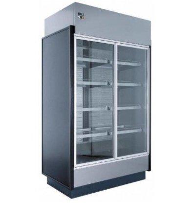 Coolselect Meuble Réfrigéré Supermarché | 0/+4°C | Eclairage LED | R404a | Disponibles en 2 Largeurs