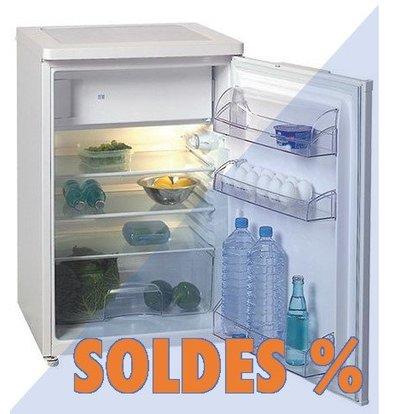 Exquisit Réfrigérateur Blanc A+ | avec Surgélateur | 150L | 580x600x(H)850mm | PROMOTION XXL!
