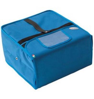 Diamond Sac Thermique Blue | Pour 4/5 Cartons Pizza de Ø320mm