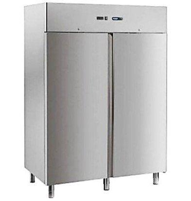 Afinox Réfrigérateur Double INOX | Format GN2/1 | 1466x803x(h)2090mm