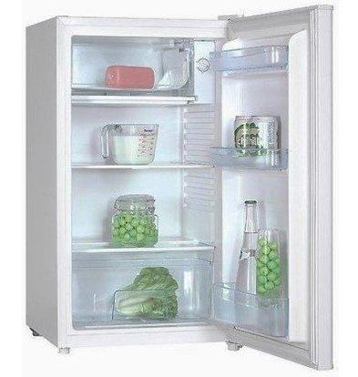 Exquisit Réfrigérateur Exquisit Blanc A+ | 80 Litres | avec Surgélateur 10L | 480x520x850(h)mm