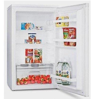 Exquisit Réfrigérateur Exquisit Blanc A+ | 102 Litres | 3 Plateaux et 1 Tiroir | 490x500x850(h)mm