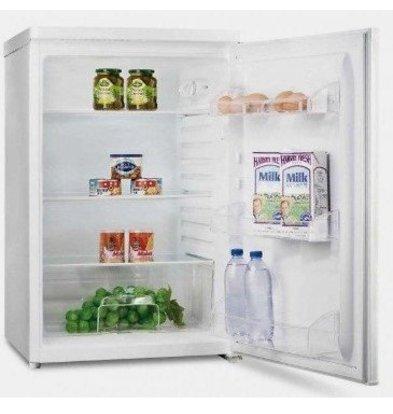 Exquisit Réfrigérateur Exquisit Blanc A+ | 130 Litres | 2 Plateaux et 1 Tiroir | 550x570x850(h)mm