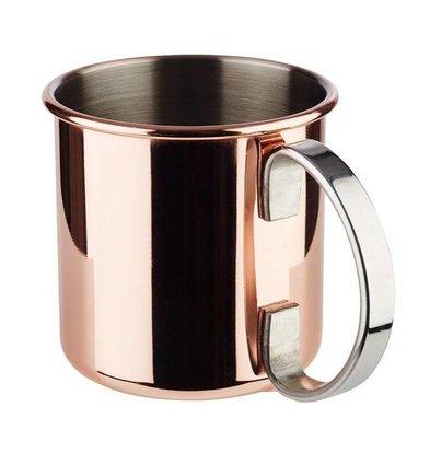 APS Mug à Cocktail 'Mule  Moscou' | Inox |Aspect Cuivre | 500 ml