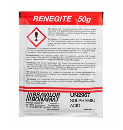 Bravilor Bonamat Sel de détartrage Renegite | 4x 15 a 50g