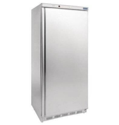 Polar Congélateur Inox | 600 Litres | Gastronorme 2/1 | 780x690x1890(h)mm