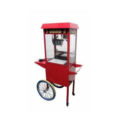 Machine á Popcorn sur roues   1.35 kW   560x417x1560(h)mm