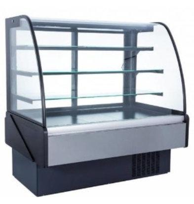 Coolselect Vitrine Réfrigérée | Portes Coulissantes |  | Eclairage LED | +2/+5°C | 1525x850x(h)1367mm