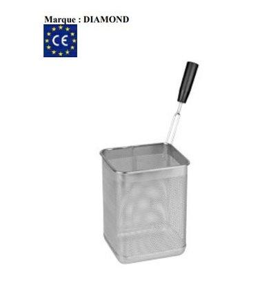 Diamond Panier Cuiseur à Pâtes | Poignée Latérale Droite | 165x145x215(h)mm
