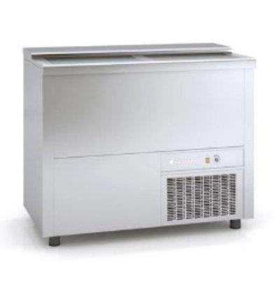 Coreco Bar Comptoir Réfrigéré Inox | 270 Litres | 1010x550x(h)850mm
