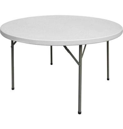 Fiesta Table de Repas Pliable | 13.6 Kg | Ø1220x740mm