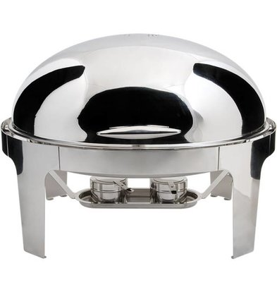 Stalgast Chafing Dish Ovale | Roll Top | 9 Litres