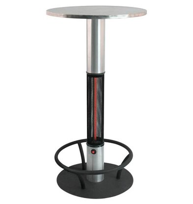 Stalgast Table Chauffante Extérieur |17.5 kg | Ø600x1100mm