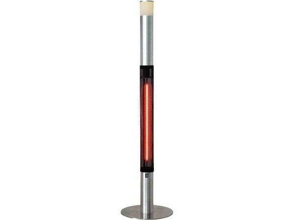 Stalgast Lampe Chauffante avec Eclairage LED   Ø400x1800mm