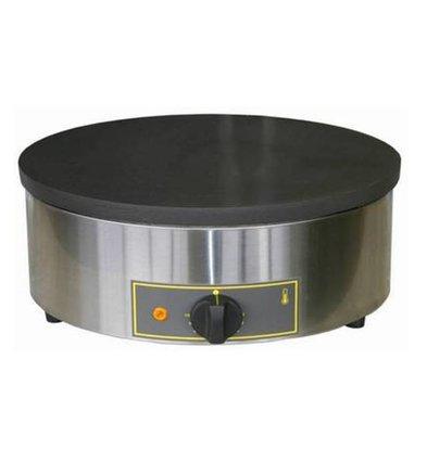 Roller Grill Crépière Simple à Gaz | 3,6 kW | Ø400x160mm