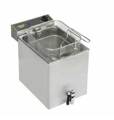 Roller Grill Friteuse avec Robinet | 12 Litres | 350x470x350mm(h)