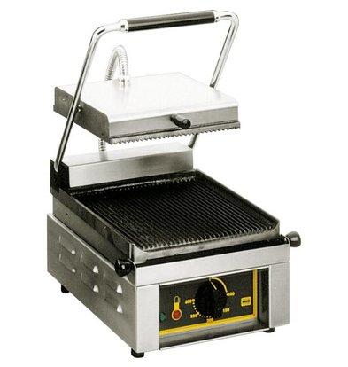 Roller Grill Grill de Contact Électrique | Rainurée | 2 kW |18Kg | 330x385x220(h)mm