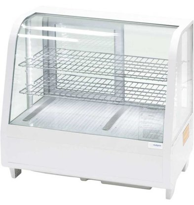 Stalgast Vitrine Refroidissante | 100 Litres | Blanc | Eclairage à LED |682x450x675mm(h)