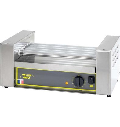 Roller Grill Rouleau Hot Dog | 5 rouleaux | 0,6 kW | 12.5Kg | 545mmx320x240(h)mm