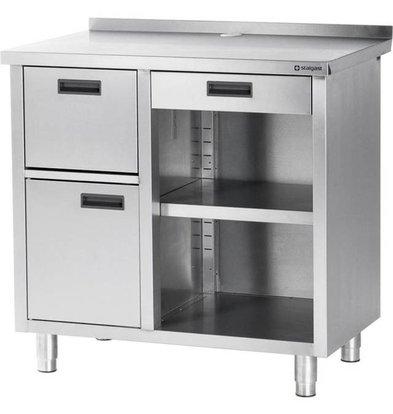 Stalgast Meuble pour Machine à Café | 1000x700x(h)1000mm