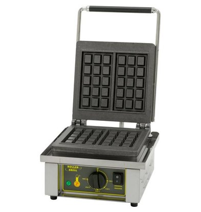 Roller Grill Gaufrier | Forme BRUXELLE | 1,6 kW | 305x440x(h)230mm