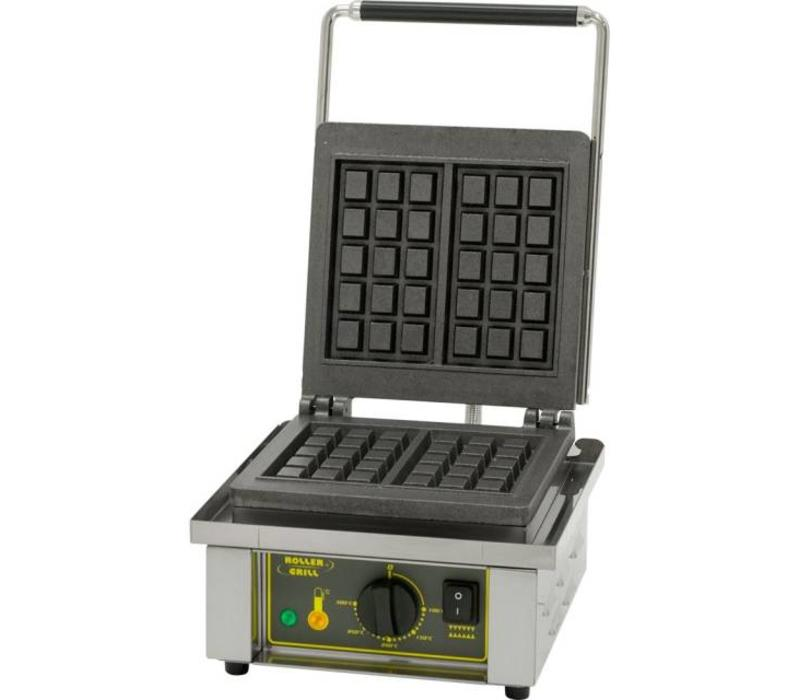 Roller Grill Gaufrier   Forme BRUXELLE   1,6 kW   305x440x(h)230mm